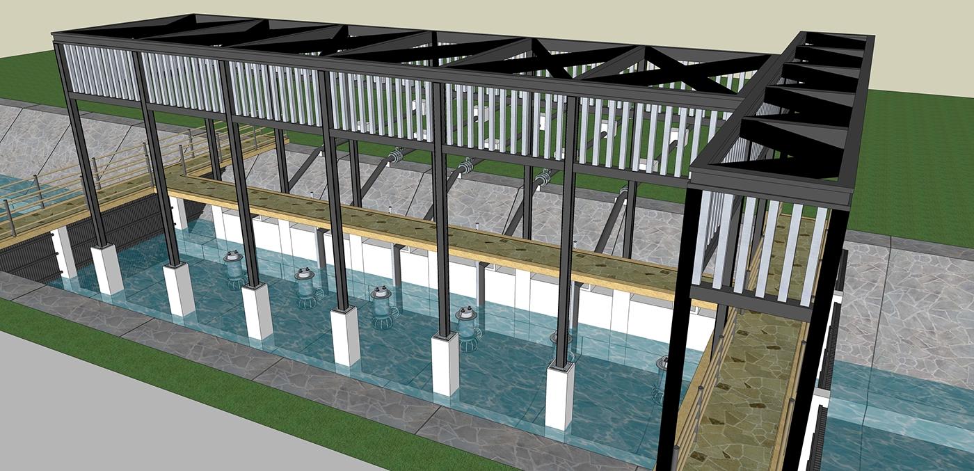 Plant Visualization 3D Visualization Industrial 3D Visualization Industrial Visualization