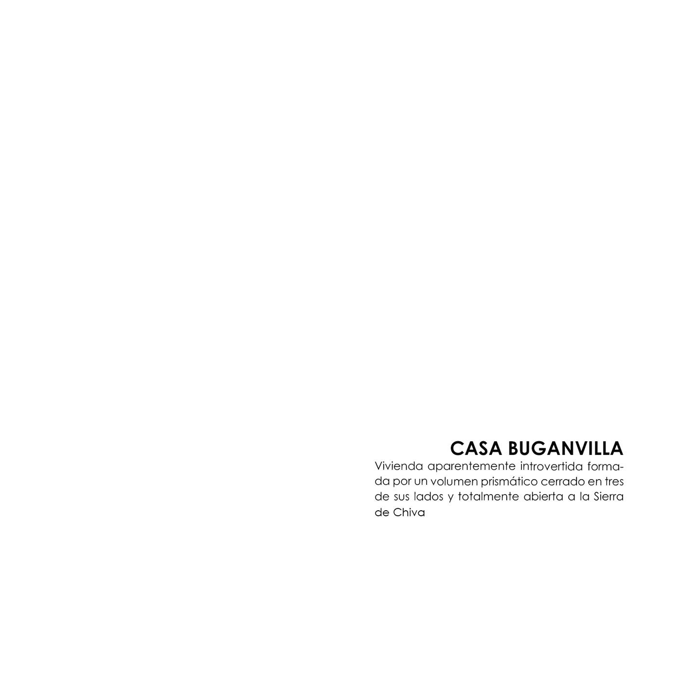 architect architecture buganvilla building design house minimal modern Photography  spain