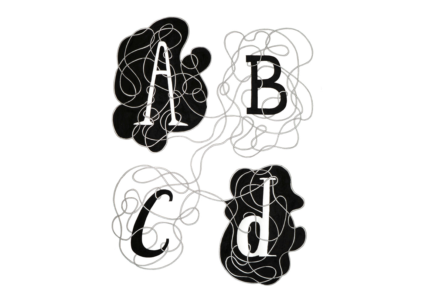 ink pencil paper lettering typography   letters