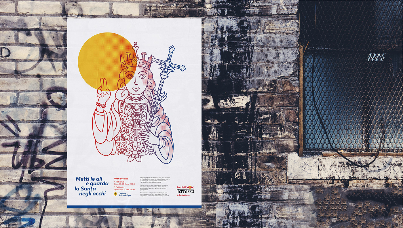 Red Bull Festival Of Saint Agatha On Behance