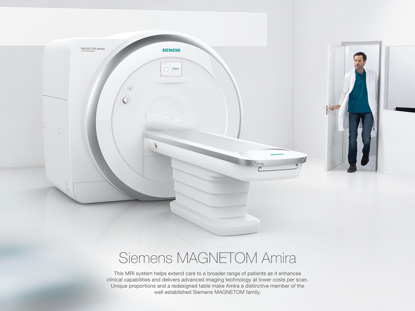 Siemens Magnetom Amira Mri Scanner On Behance