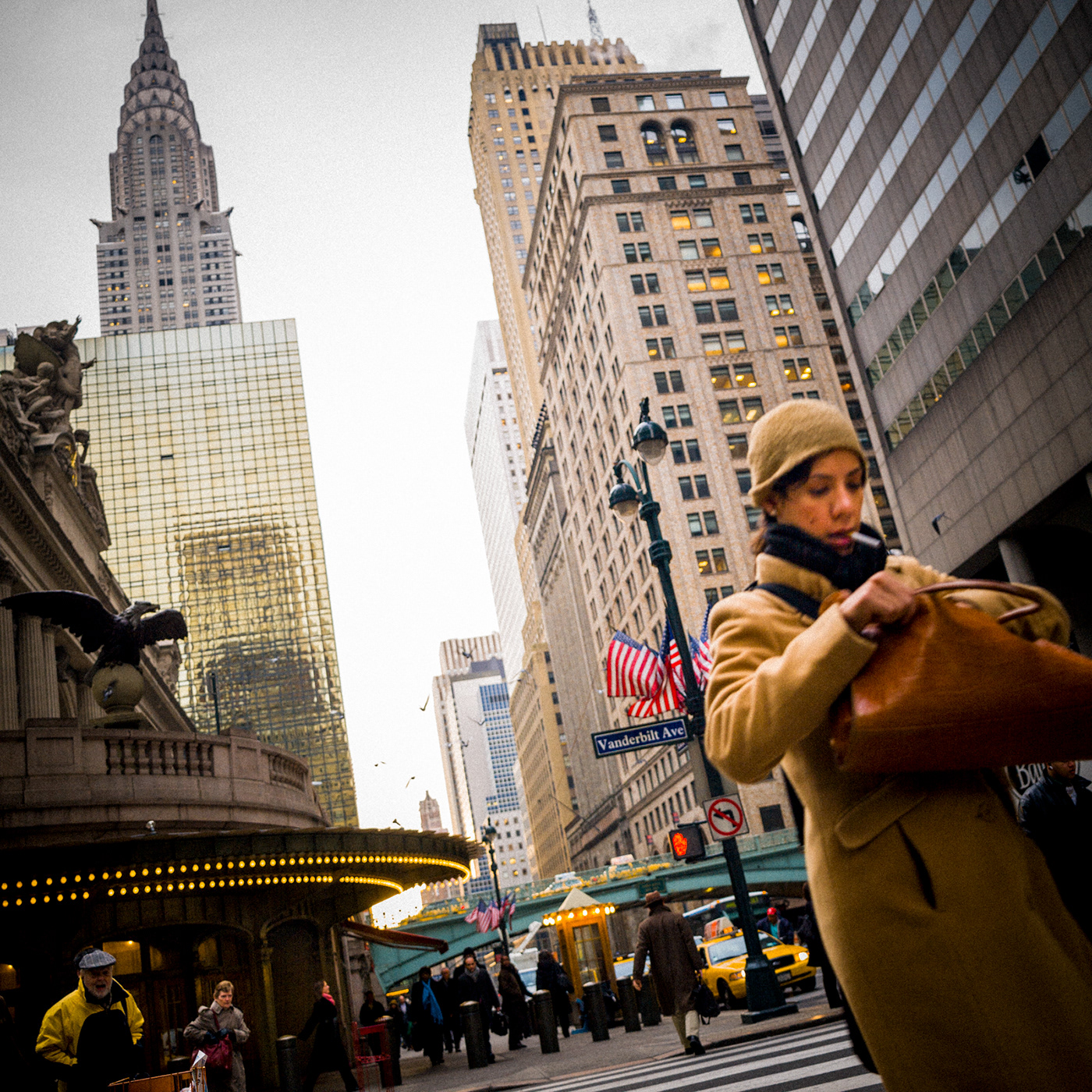 new york city  nyc  Grand Central terminus  commuters railway  e 42nd Street e 42nd street