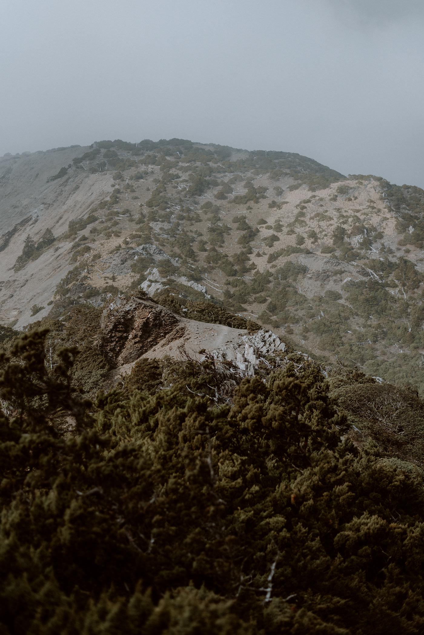 Hike hiking lacdscape mountain Outdoor Photography  taiwan trekking