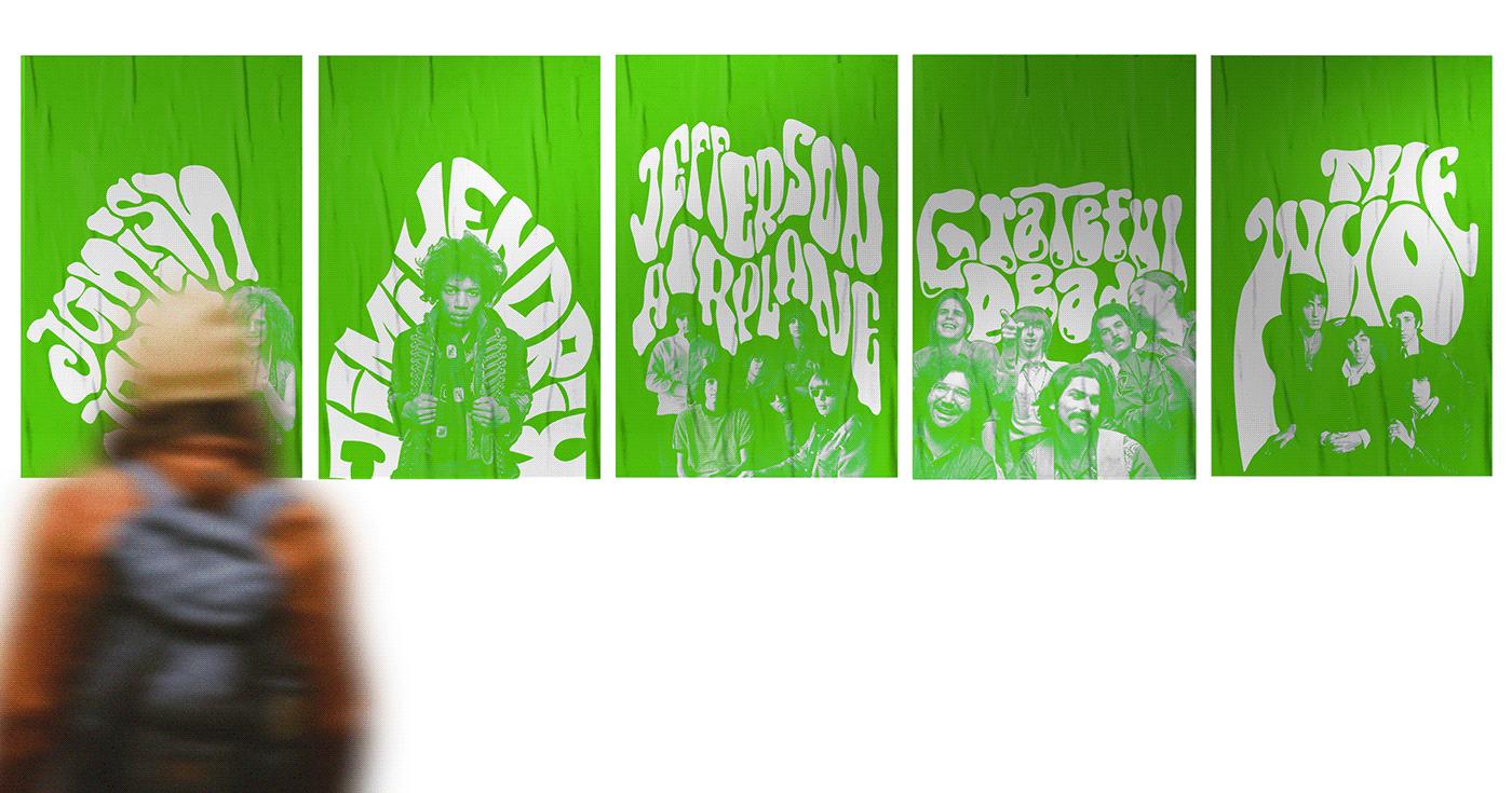 woodstock 69 posters