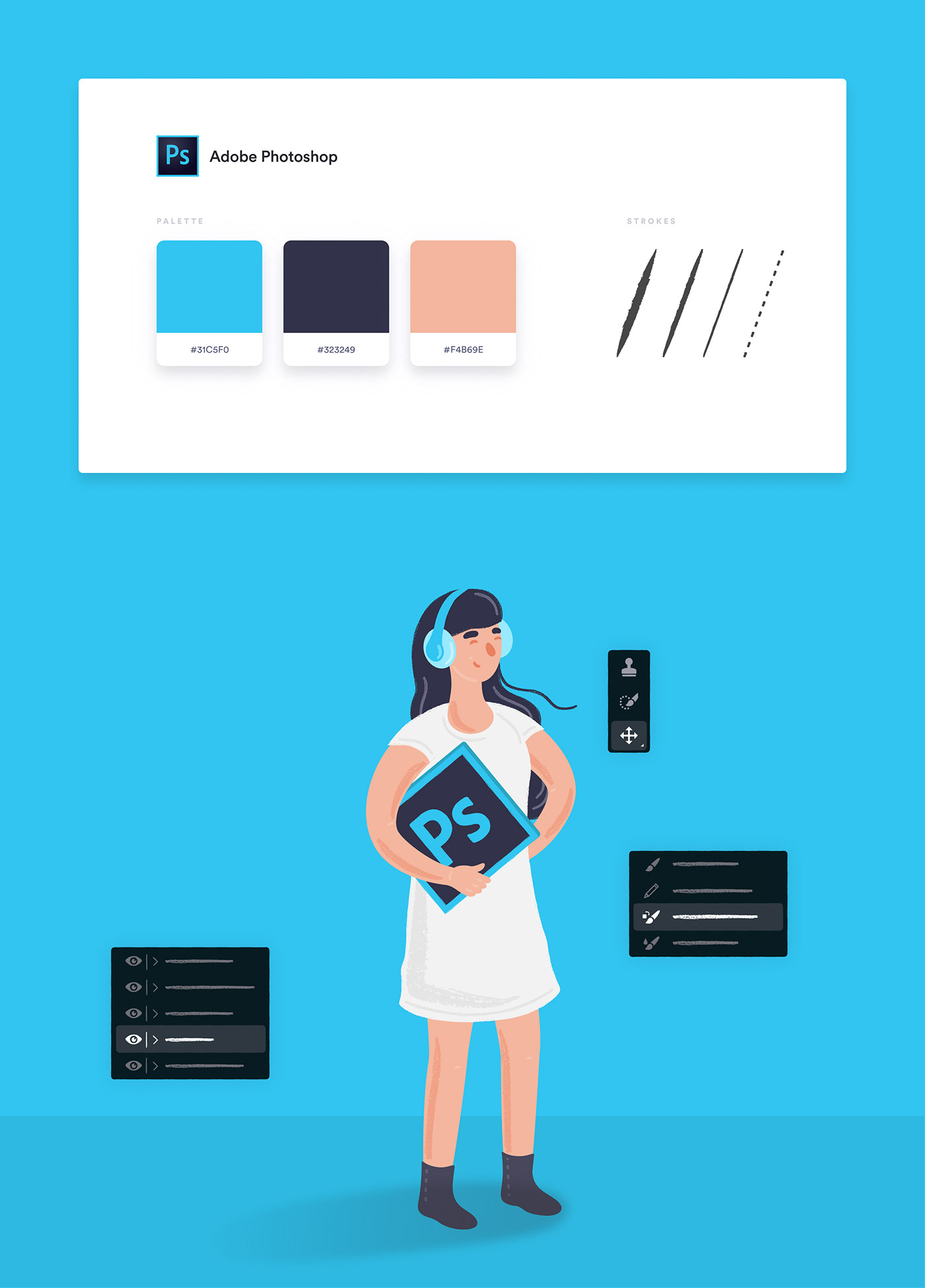 ILLUSTRATION  adobe Illustrator sketch design art direction  characters business Creativity