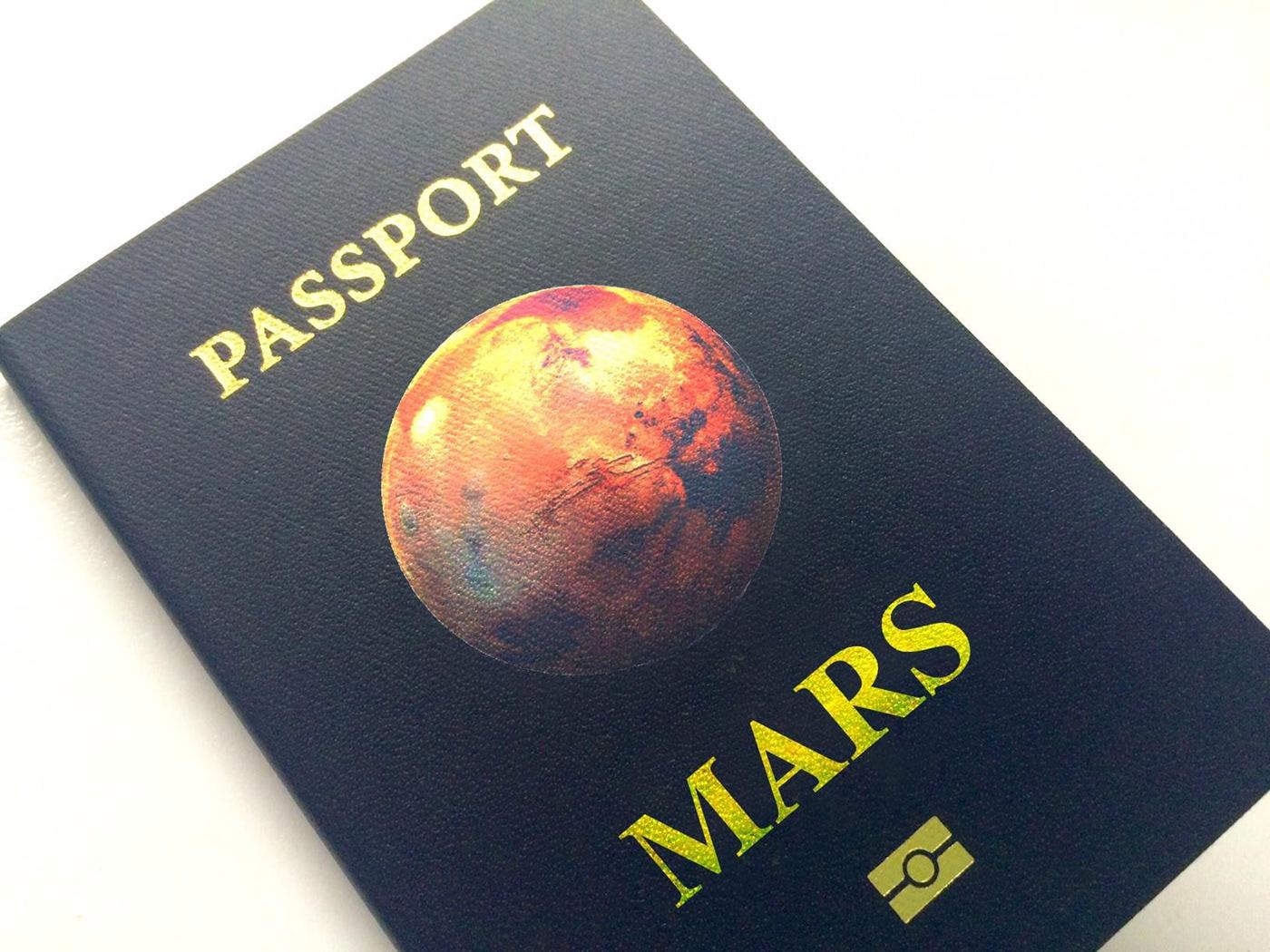 alien mars mistake Passport