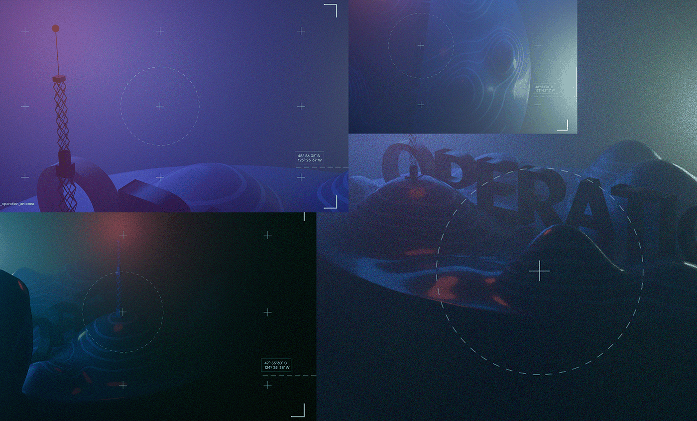 CGI docker hill light Military operation submarine topography
