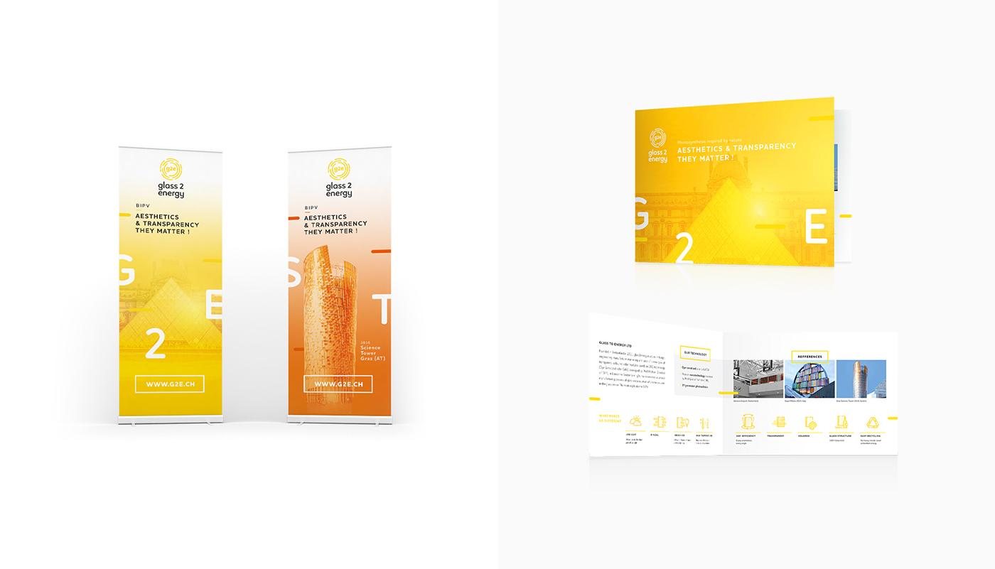 visual identity corporate Startup yellow rebranding