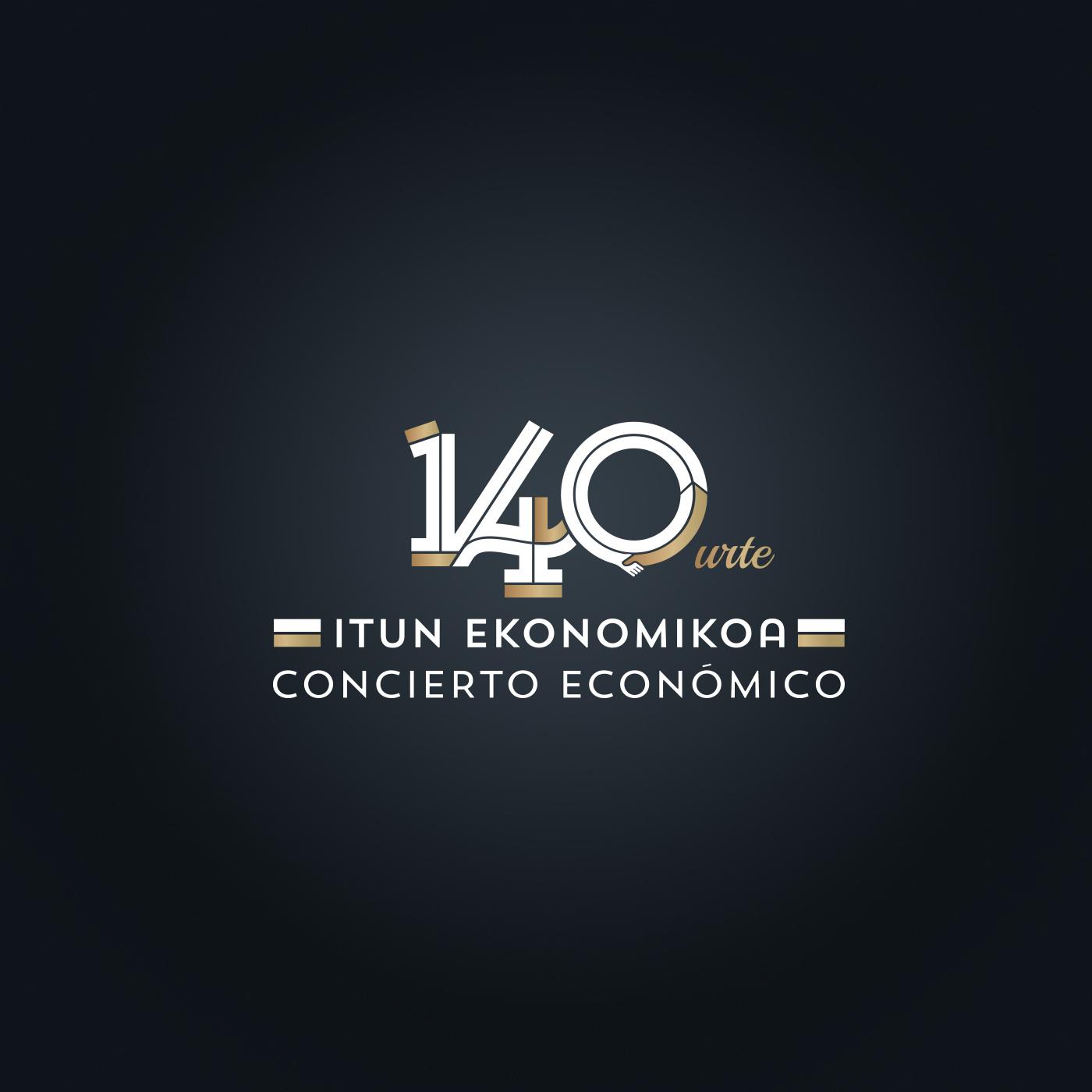 gobierno vasco concierto económico 140 aniversario marca
