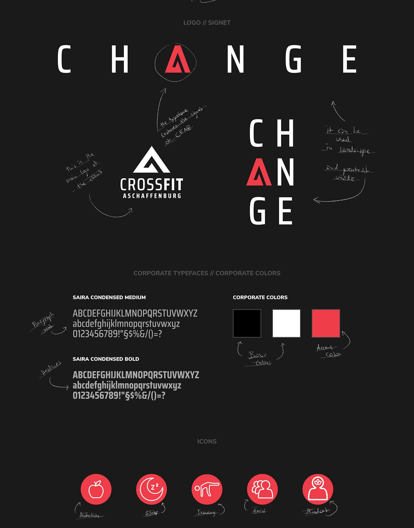 CROSSFIT ASCHAFFENBURG // Logo + Typeface