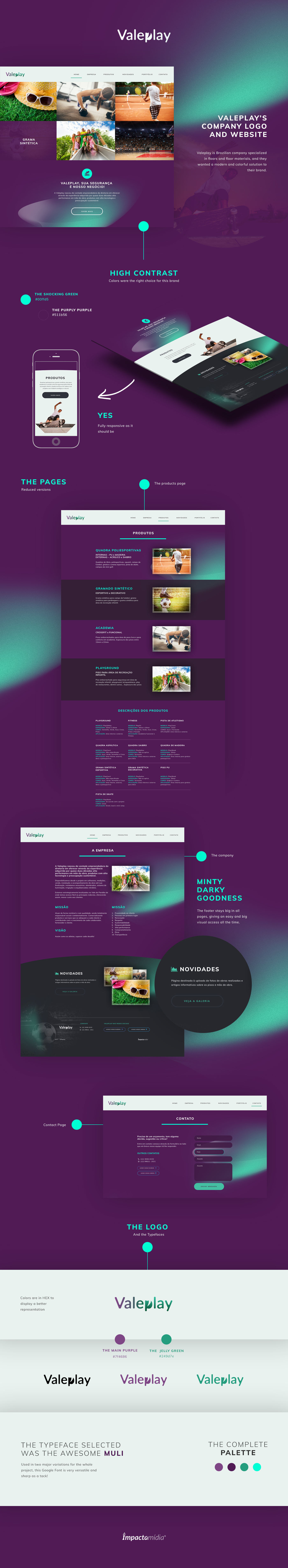 Website Web Webdesign purple green High Contrast logo Logo Design contrast Web Design