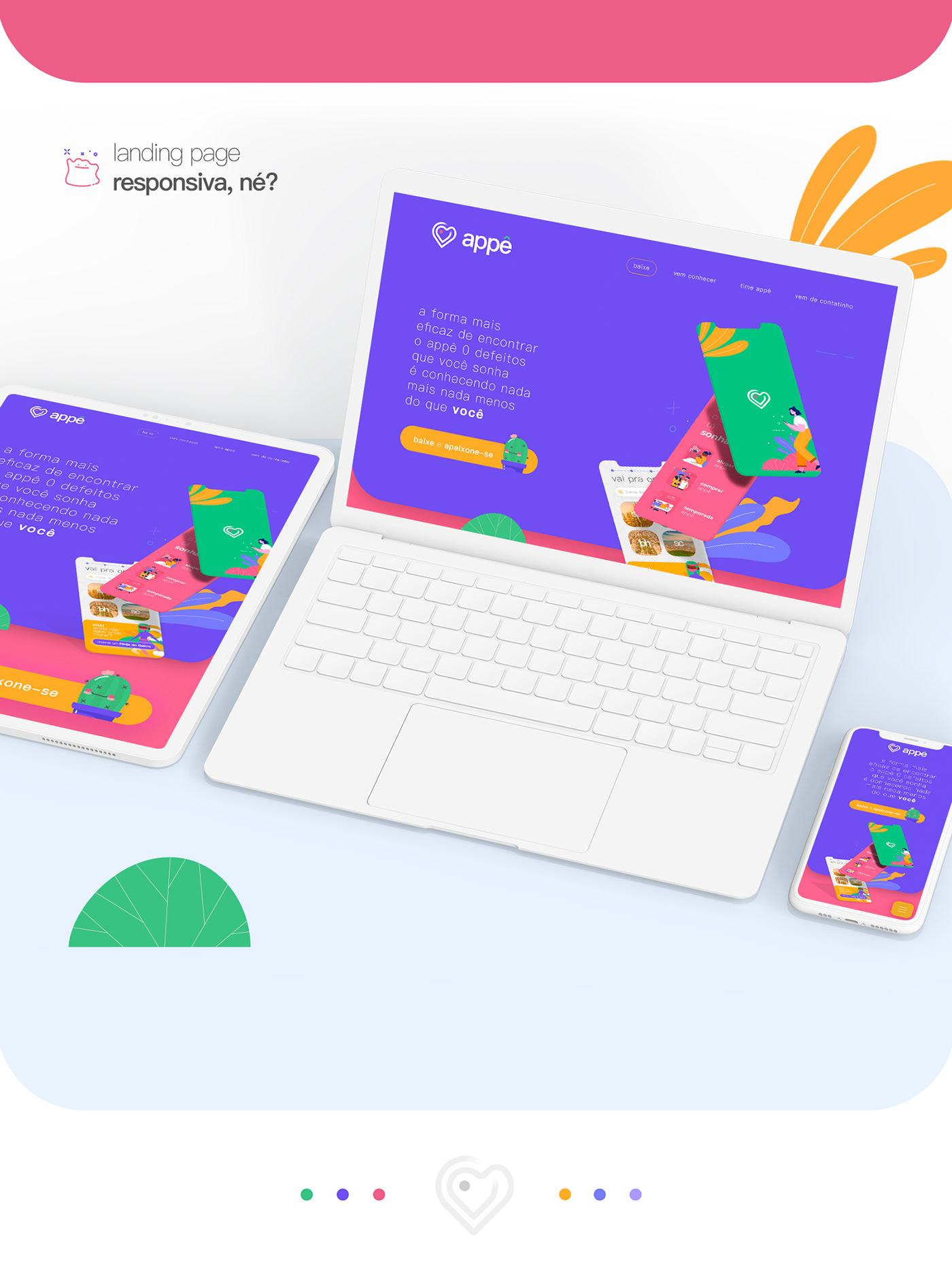 Aluguel aplicativo app branding  imóvel renting UI ui design ux UX design