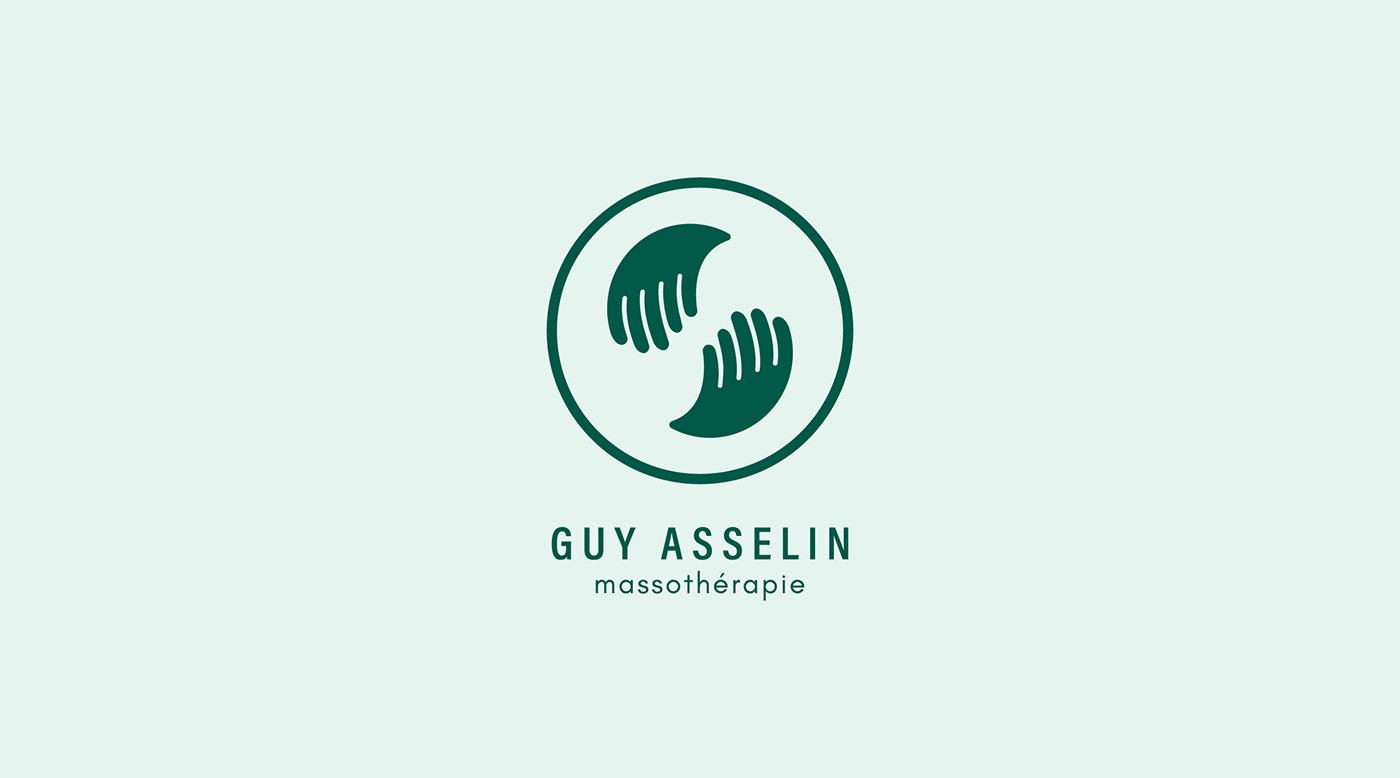 branding ,logo,massage