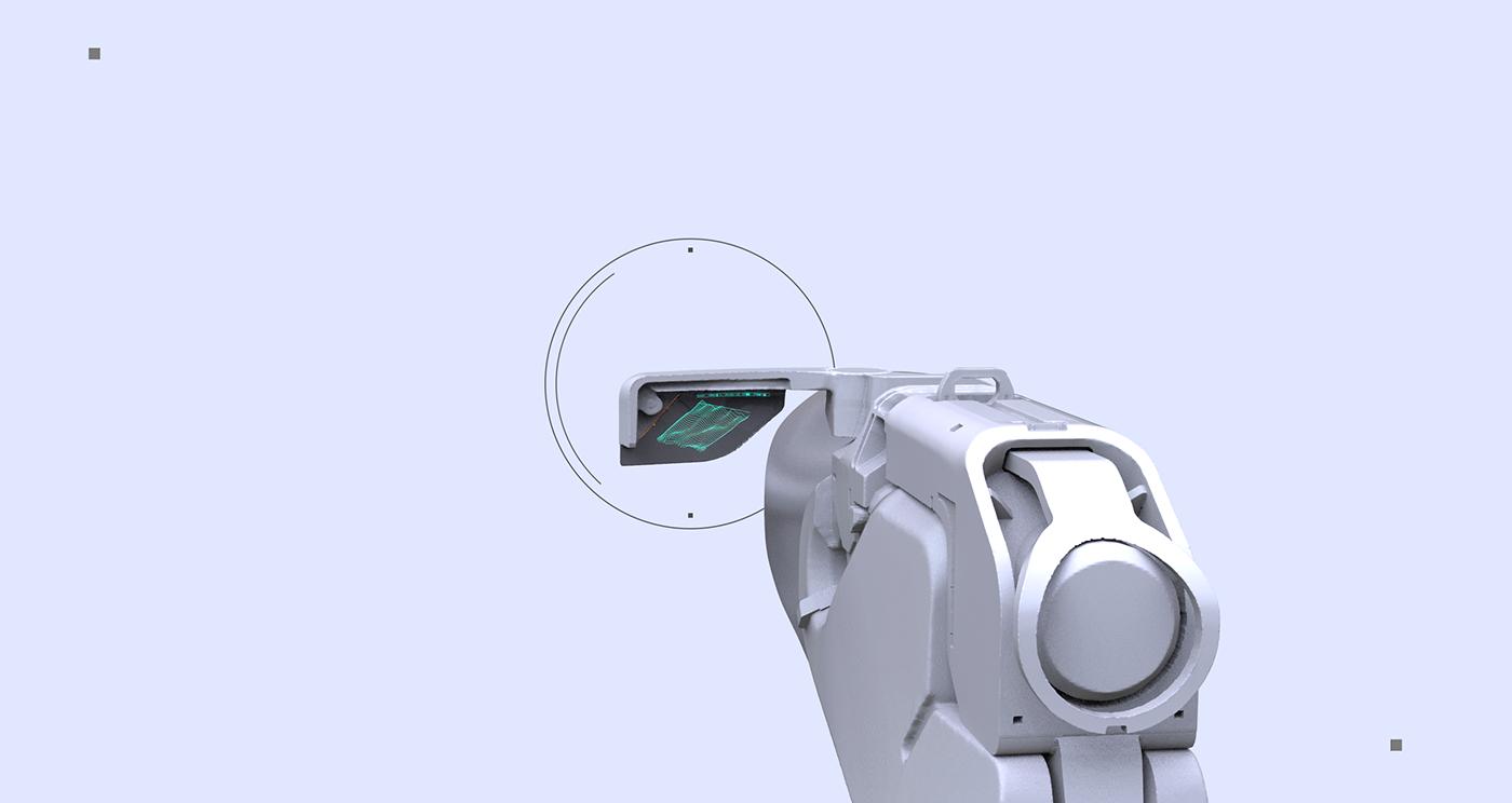 art concept design HardSurface industrial sci-fi tool weapons