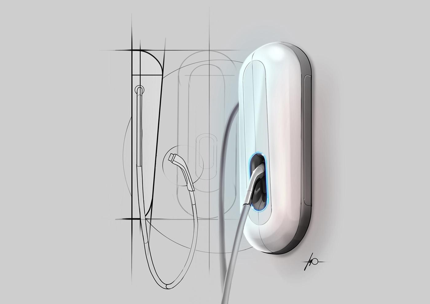 sketches sketchbook concepts headphones chair dishwasher AC charger Bike Helmet