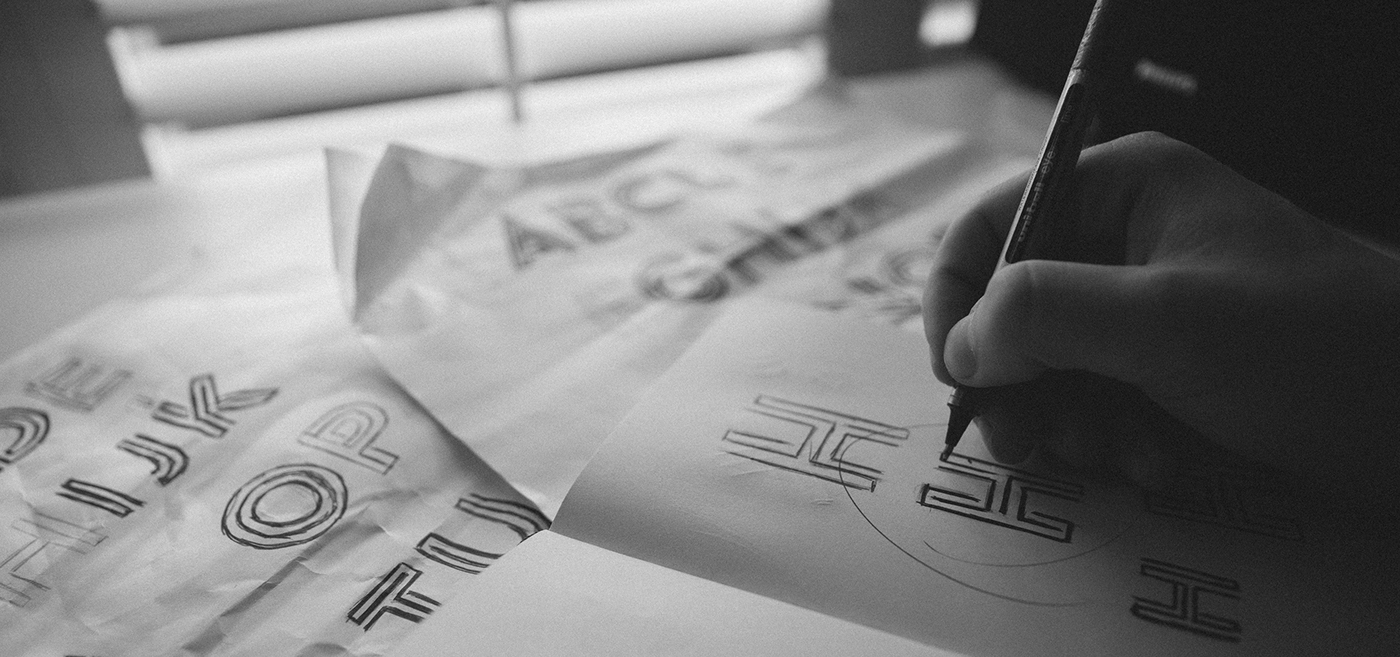 free font design tom Anders geometric geometry black and white fonts typographic type best fonts designers designs Typeface