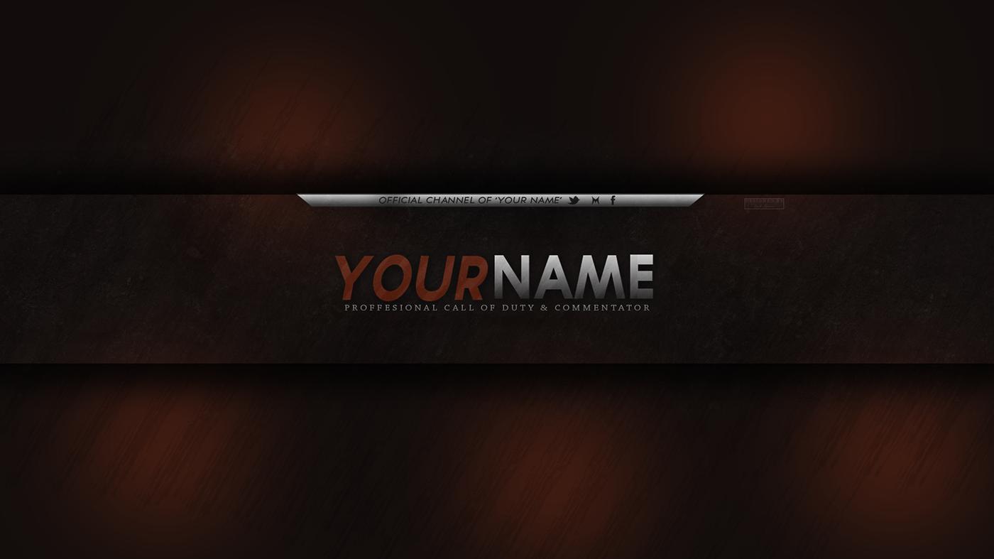 YouTube Banner Design - 2D on Behance