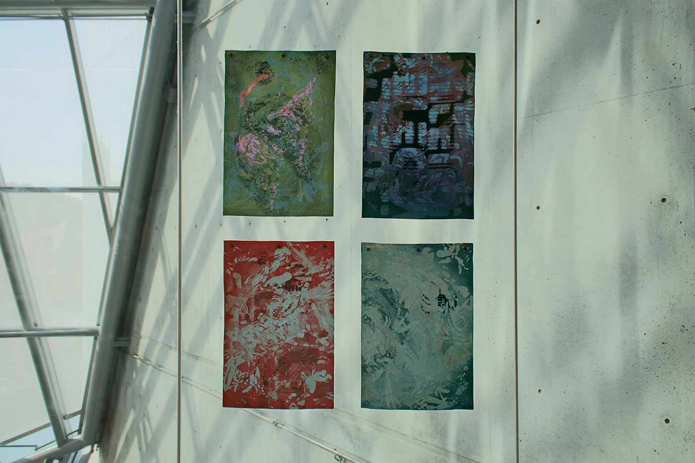 fabric print distortion weeding illustration design abstract visual adobeawards