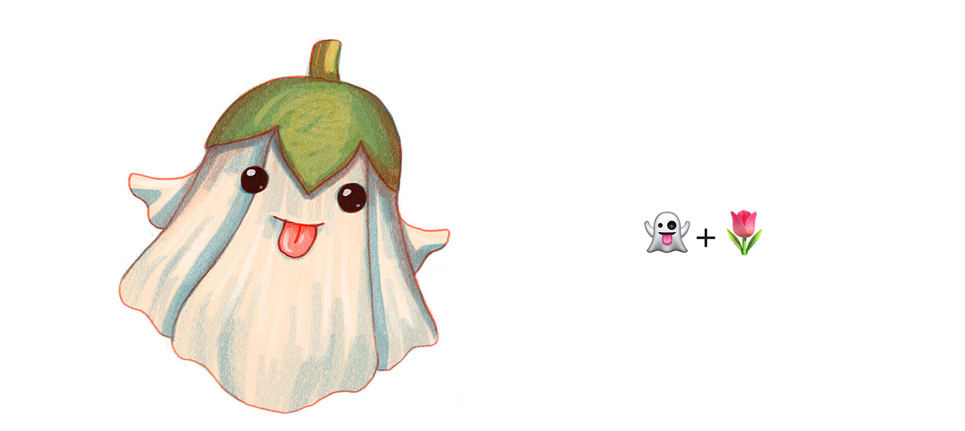 Character characters Emoji emojinarium game ILLUSTRATION  instagram miminoshvili animals