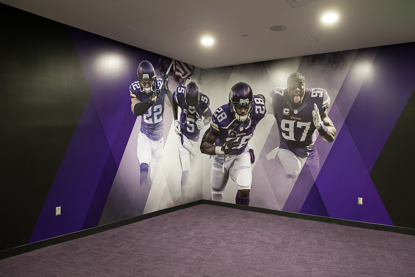 Vikings Locker Room On Behance