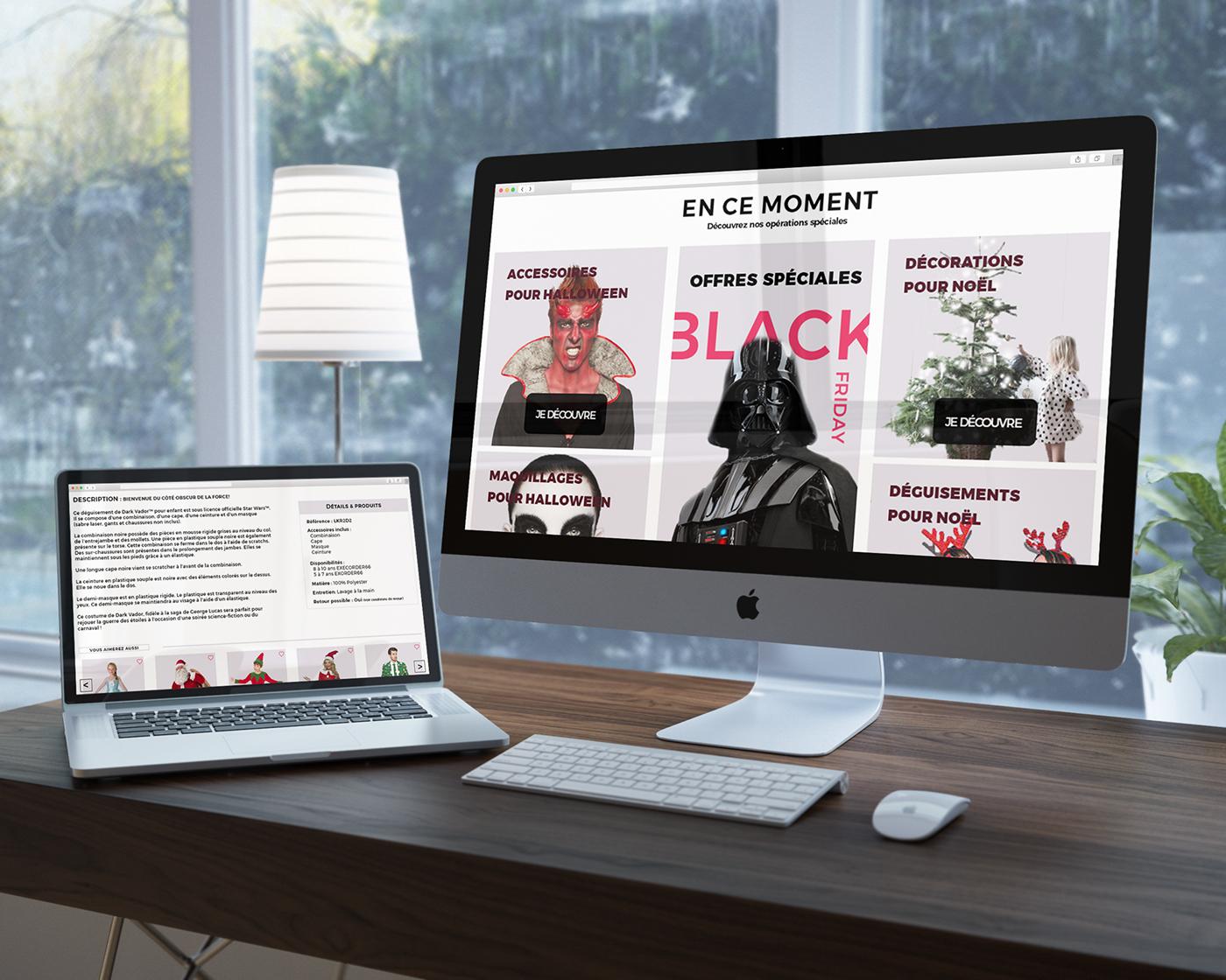 Webdesign visual logo Website identity page Ecommerce Layout Web