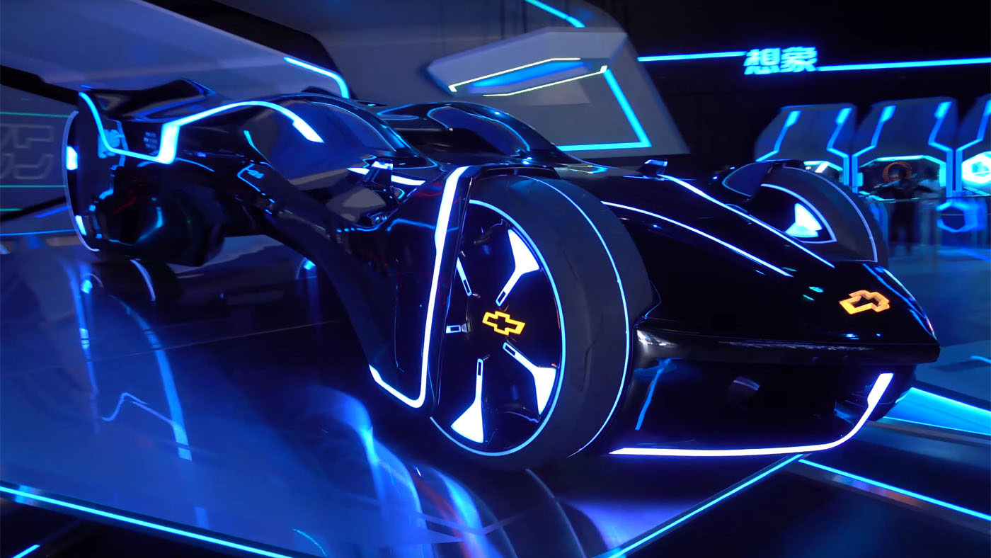 Tron Car For Shanghai Disneyland By Daniel Simon On Behance