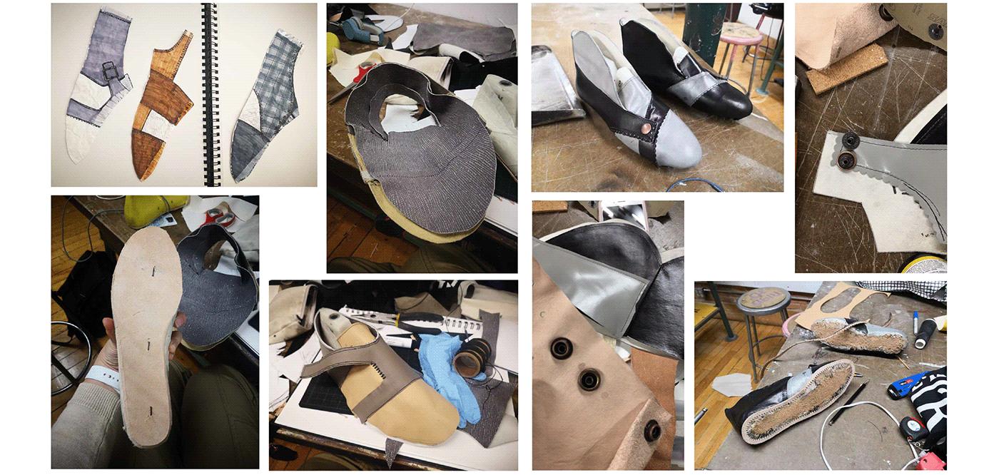 Fashion  footwear leather monkstrap shoe shoemaking softgoods