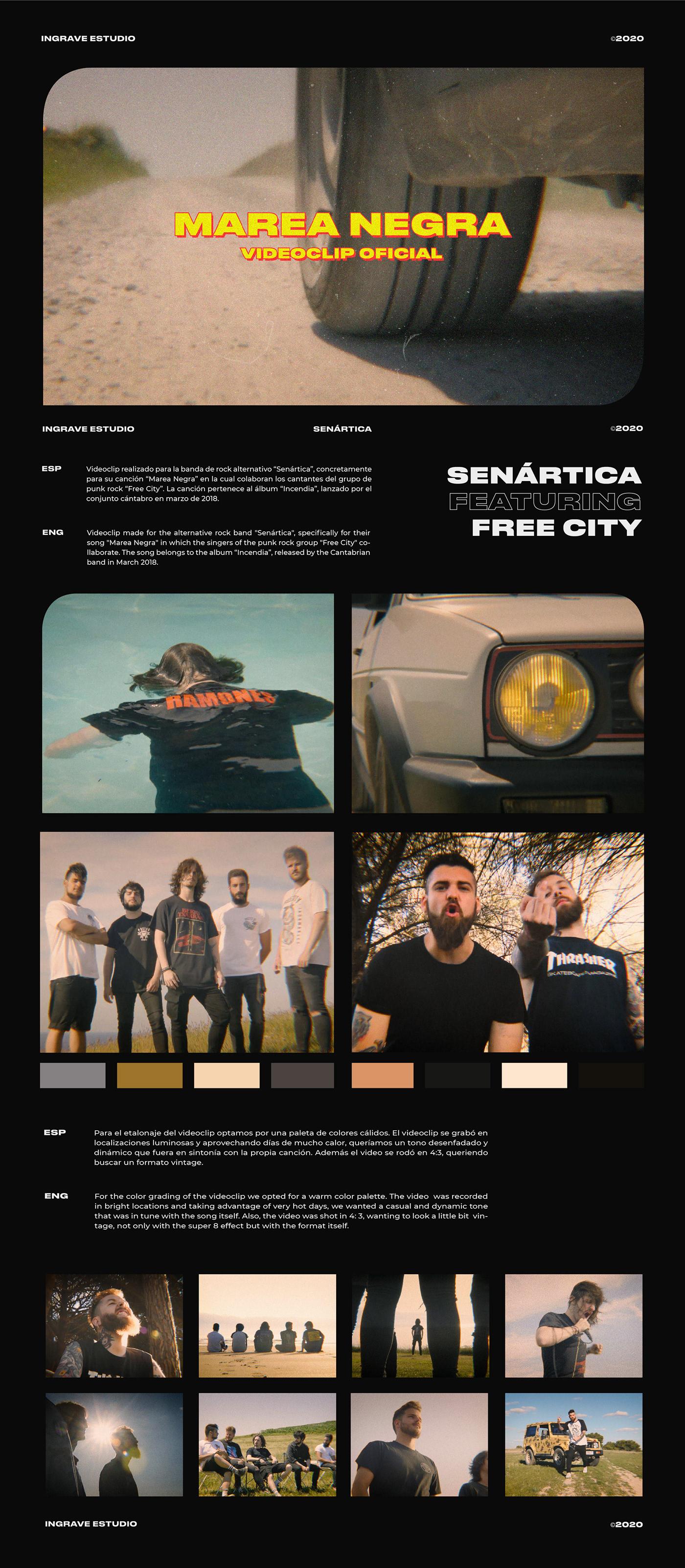 filmmaking free city Marea Negra music punk rock senártica super8 vintage