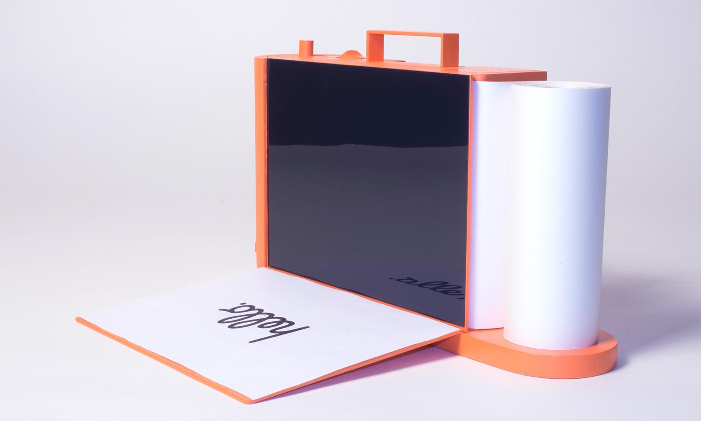 Adobe Portfolio interacting with things diebedienbarkeitderdinge AKA ABK STUTTGART Diplomarbeit printer Drucker scanner