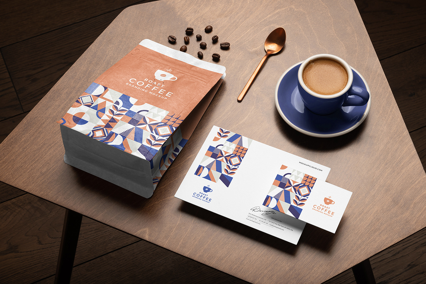 Roast – Coffee Branding Mockup