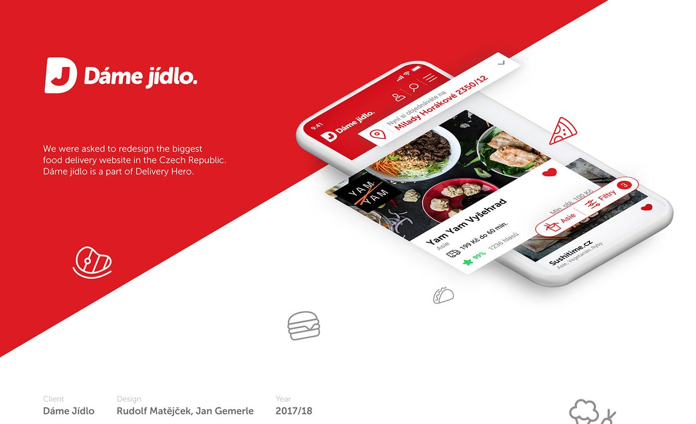 delivery Web Design  design UI ux app Food  Order