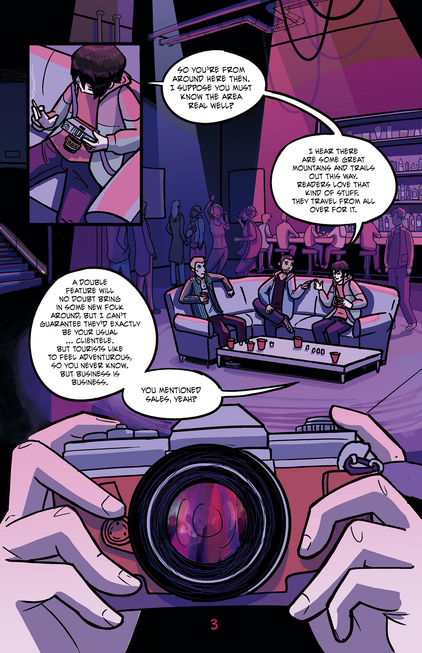 comics original comics suspense comic Suspense Thriller web comics