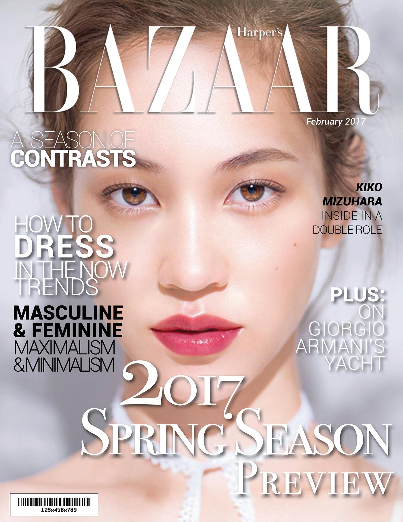 有美感的22個時尚雜誌封面欣賞