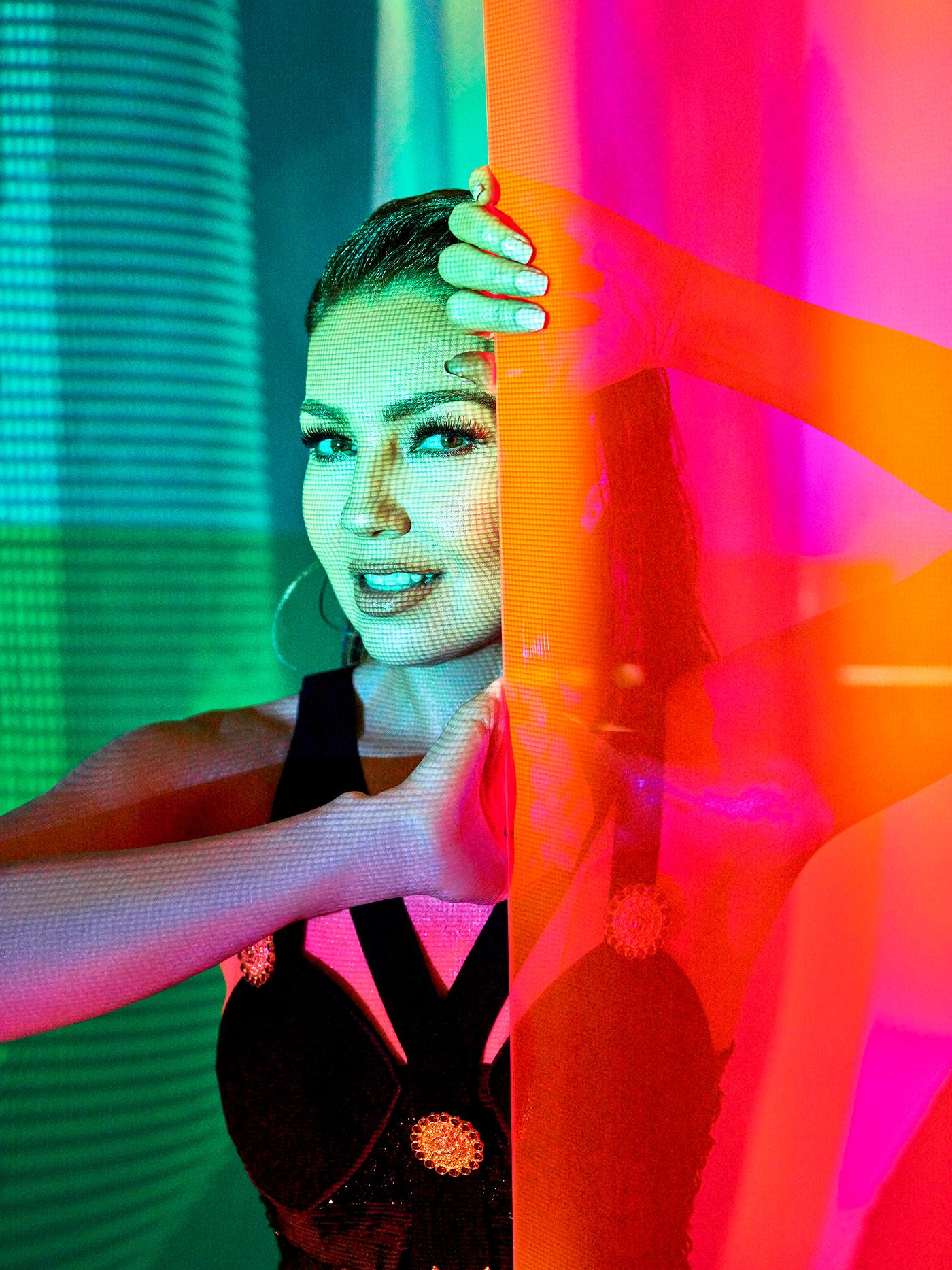 album cover color desAMORfosis Enrique Vega Latin Music music thalia thalia sodi