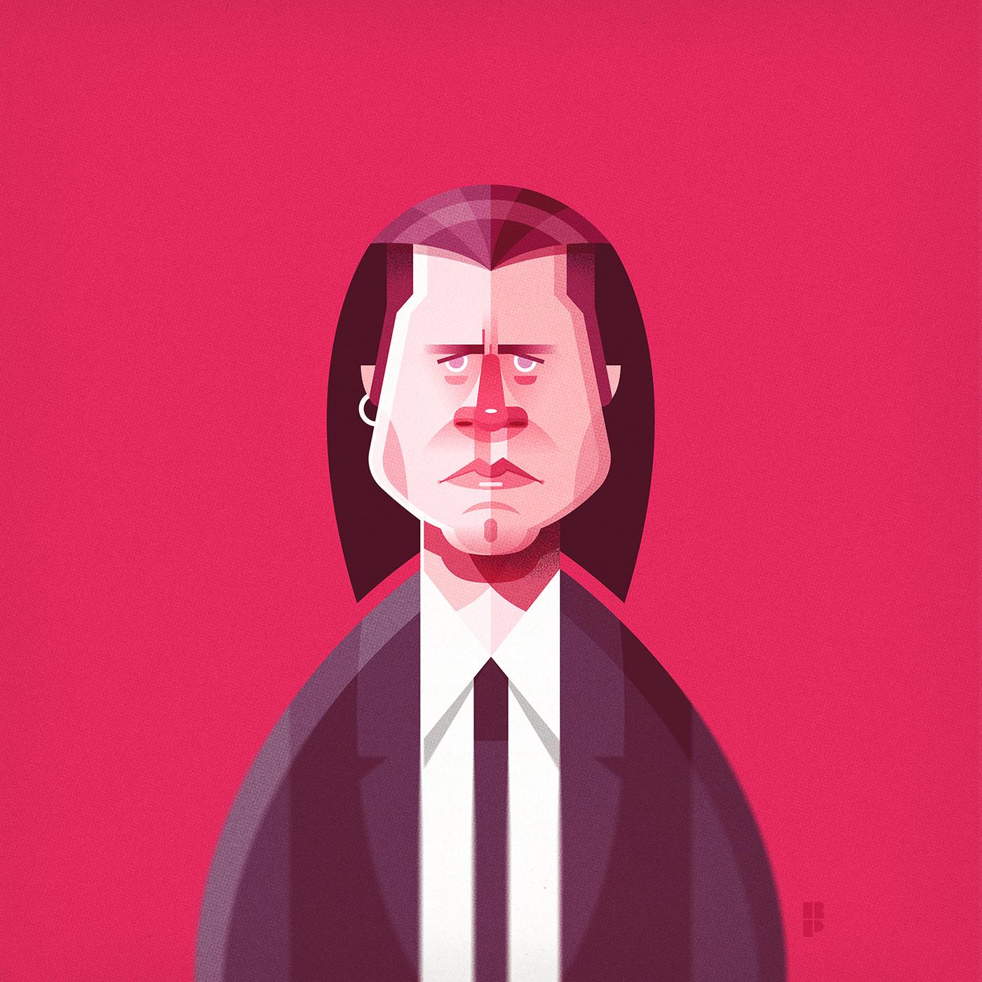 Image may contain: cartoon, human face and man