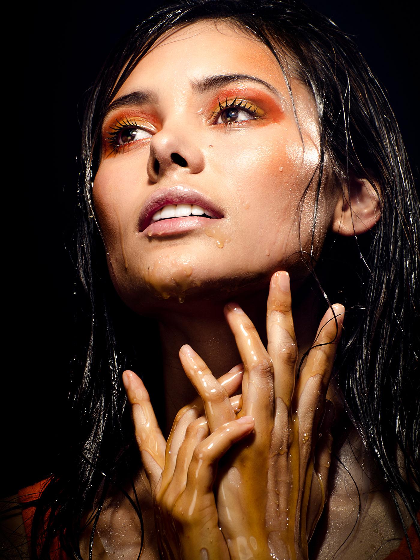 honey makeup