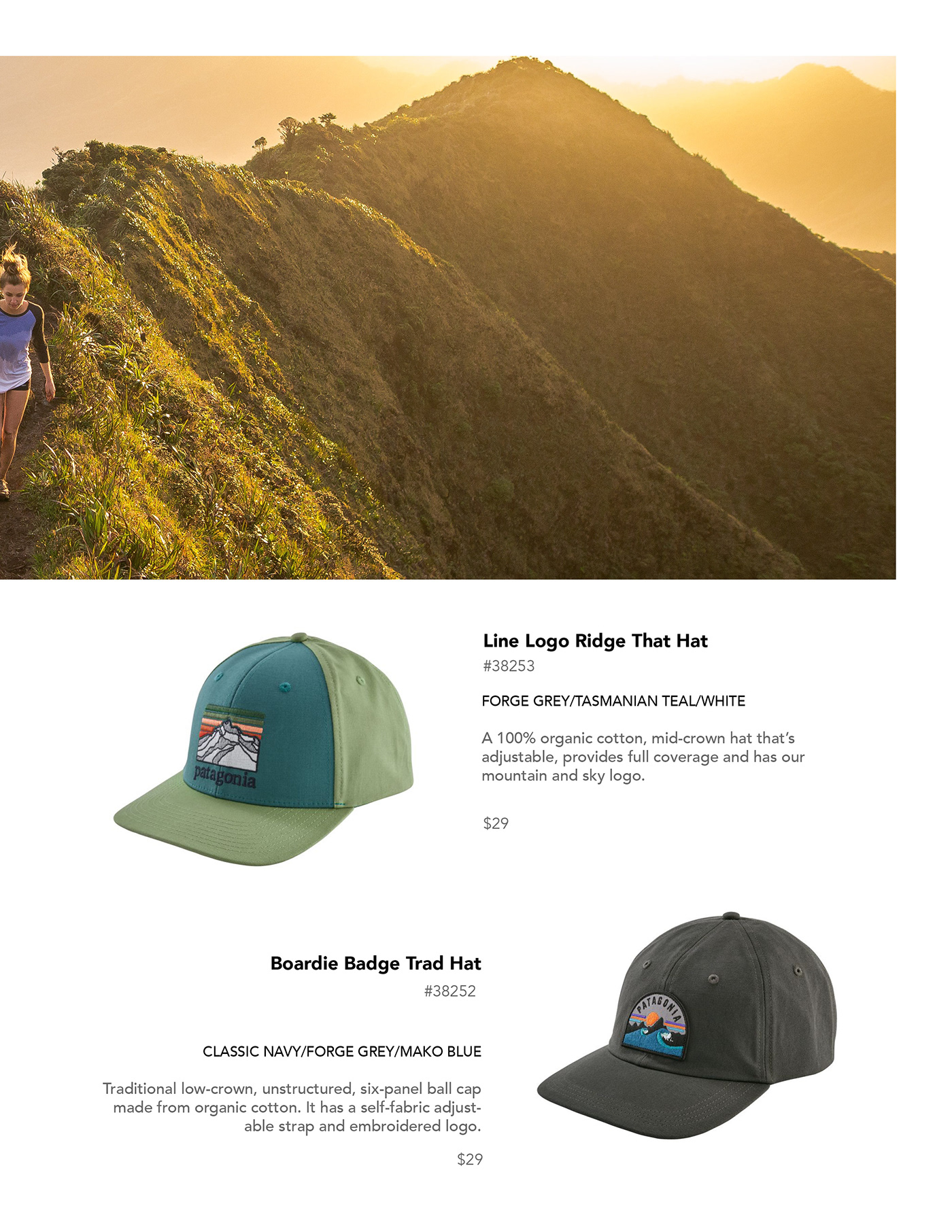 Patagonia Catalog on Behance