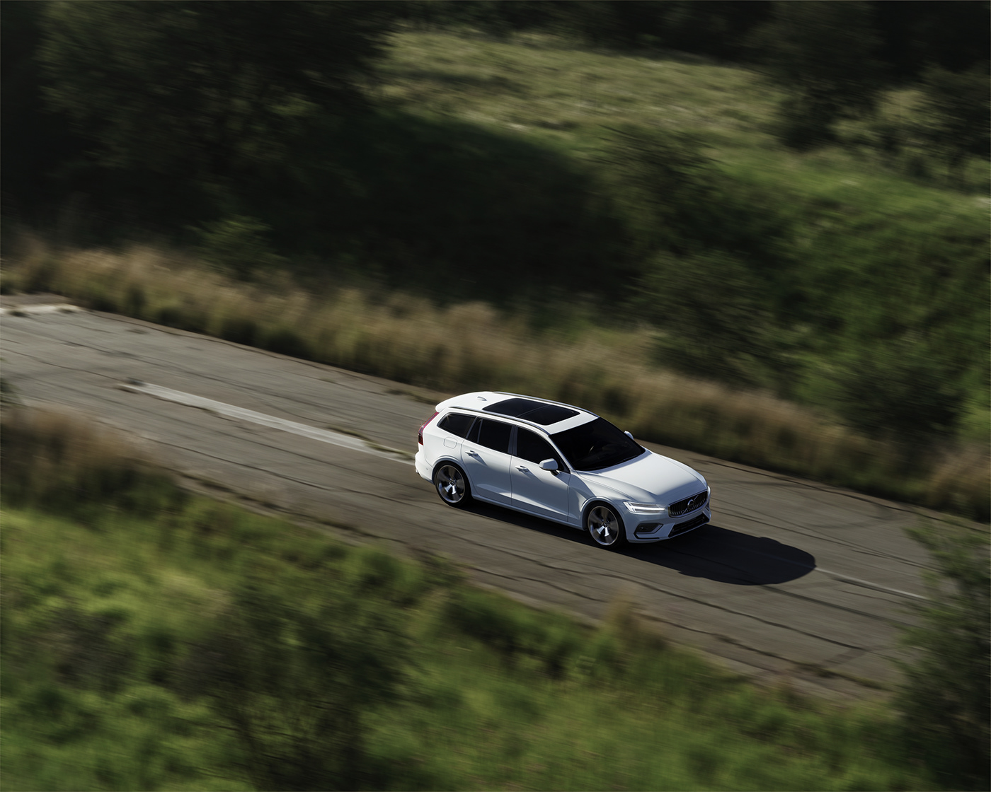 Adobe Photoshop car CGI cinema4d coche corona render  desing diseño madrid Volvo
