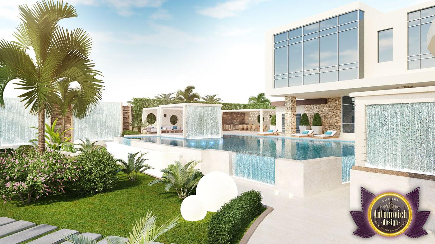 Garden design ideas of Luxury Antonovich Design on Behance
