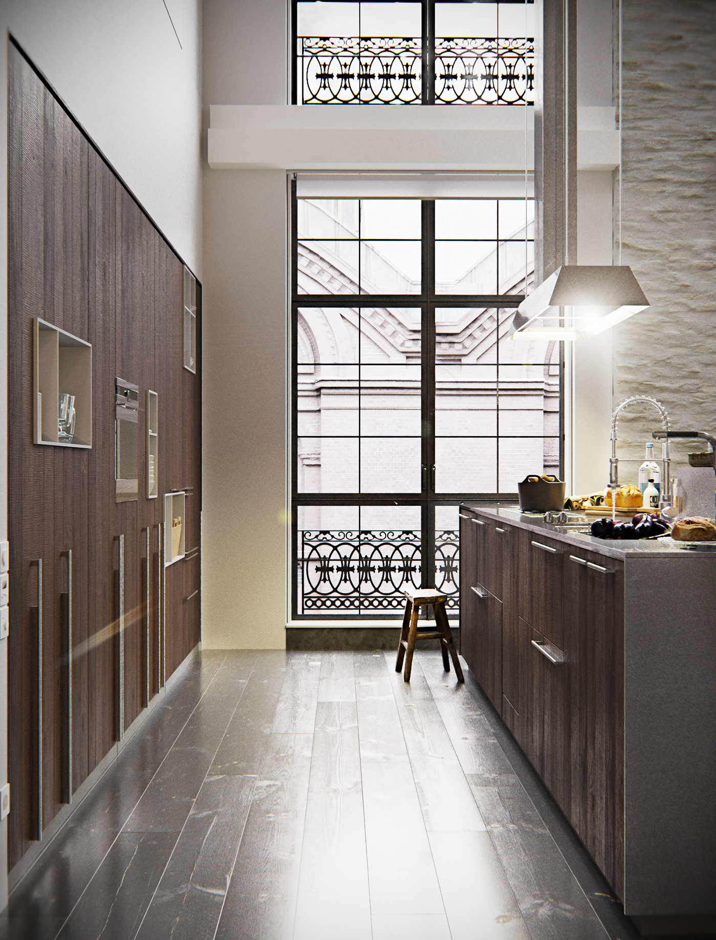 Loft studios project in new york city on behance for Lofts in new york city