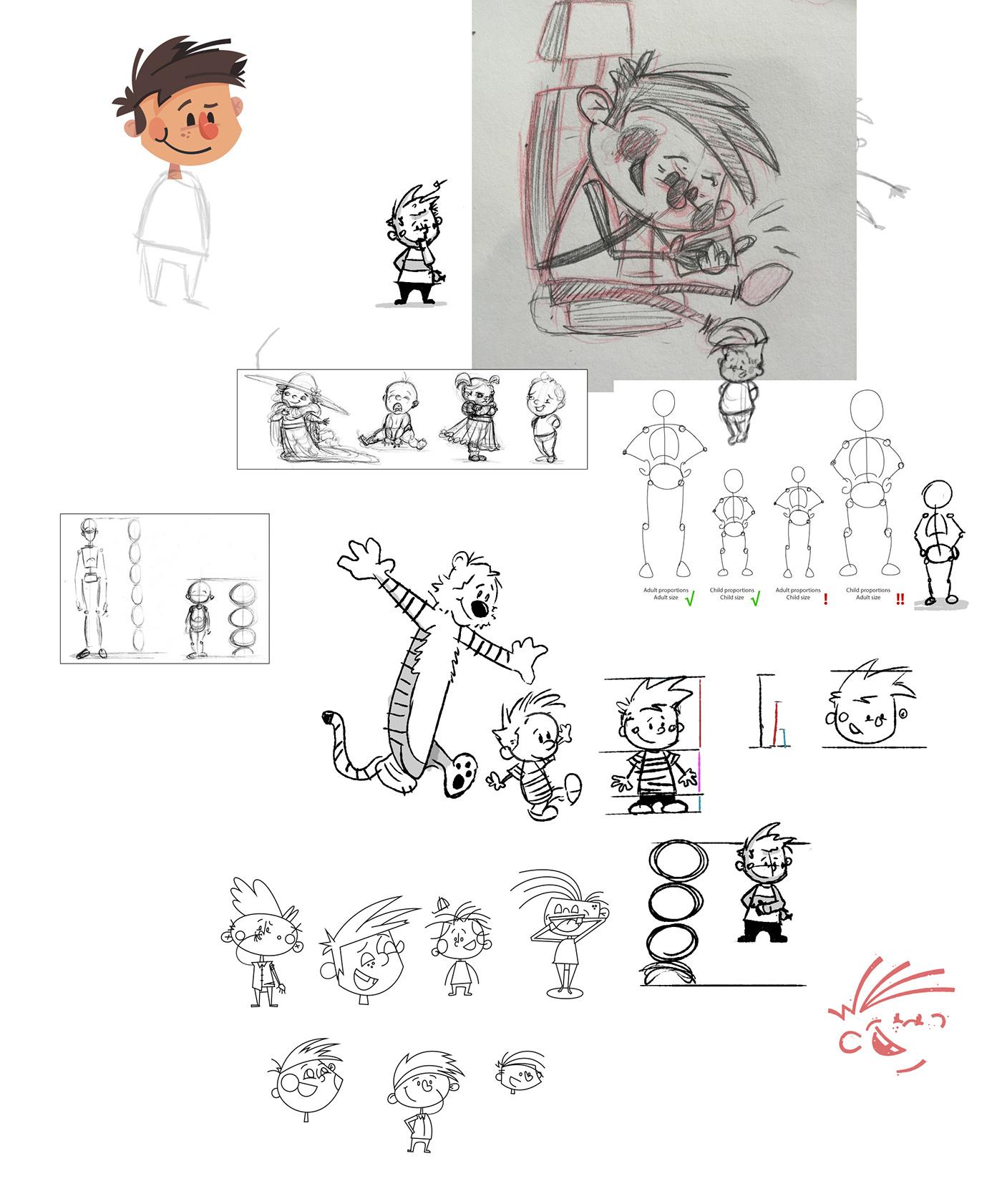 Character Design For Children S Books : Children s book character design process on behance