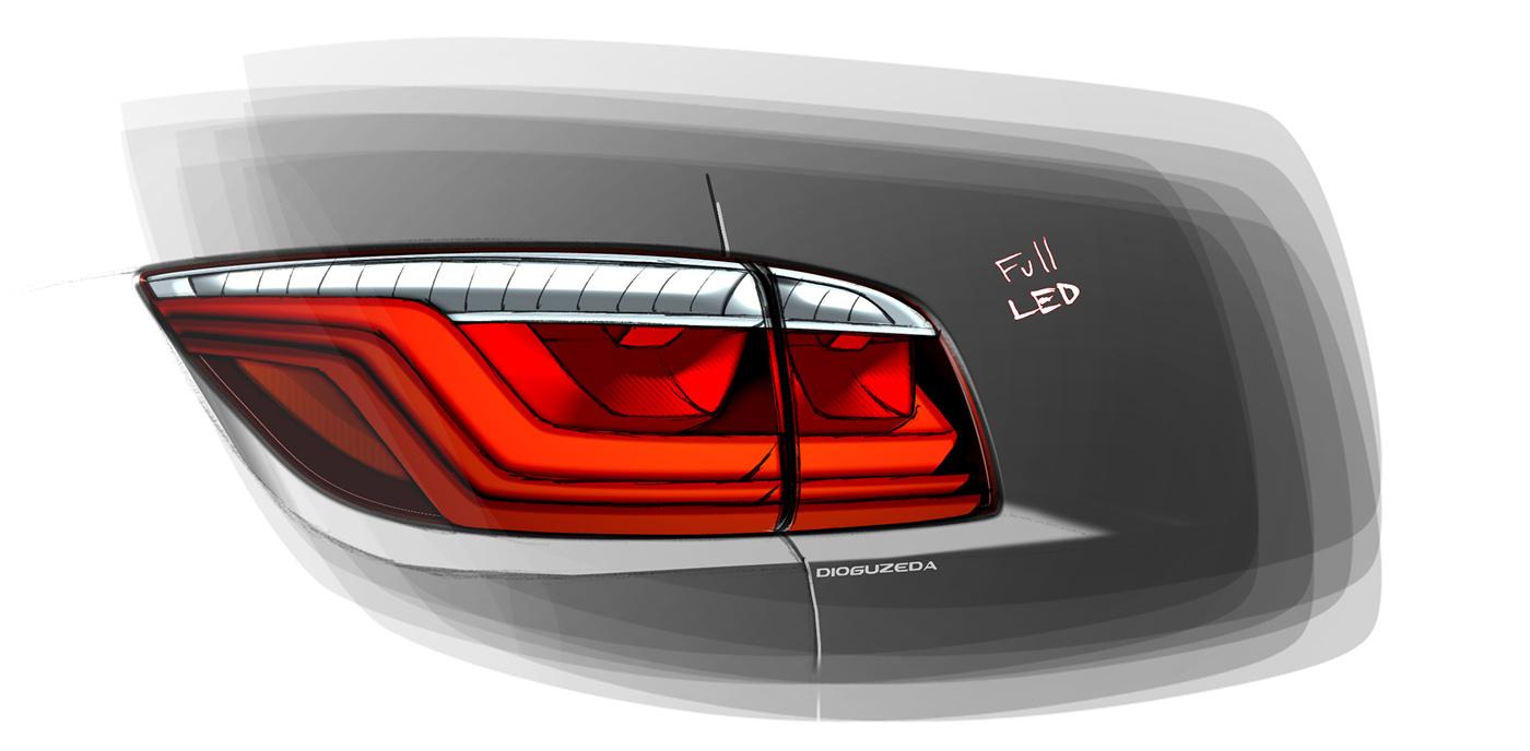 automotive   lighting rear tail Lamp light