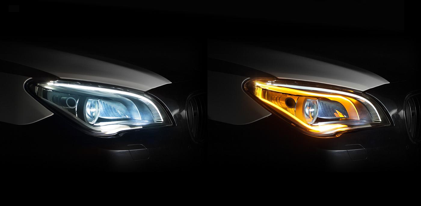 headlight headlamp ZKW transportation light car Technology austria vienna wien Peschke design BMW led sketch