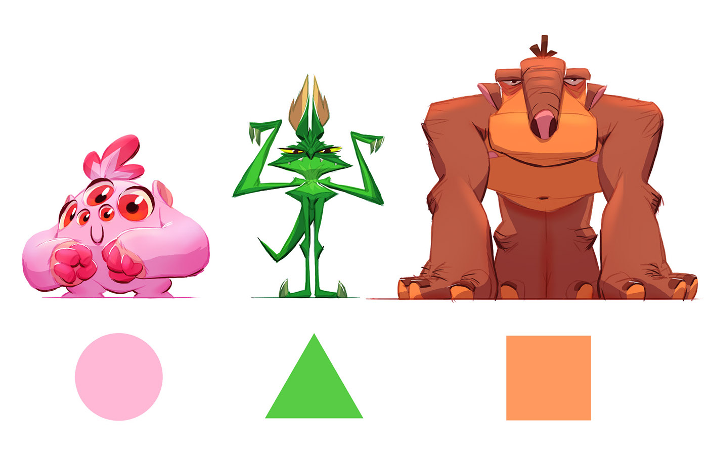 Character Design For Animation : Character design for animation courses cgma on behance
