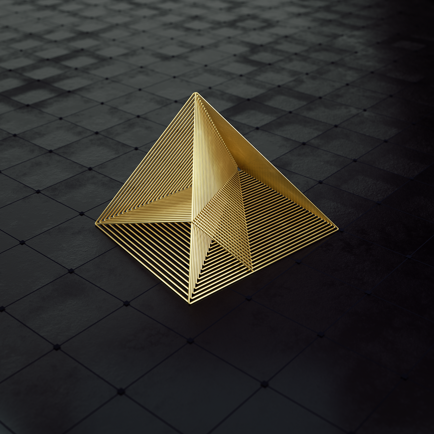 logo CGI Variations dailyart octane X-paticles snow gold materials camfrae