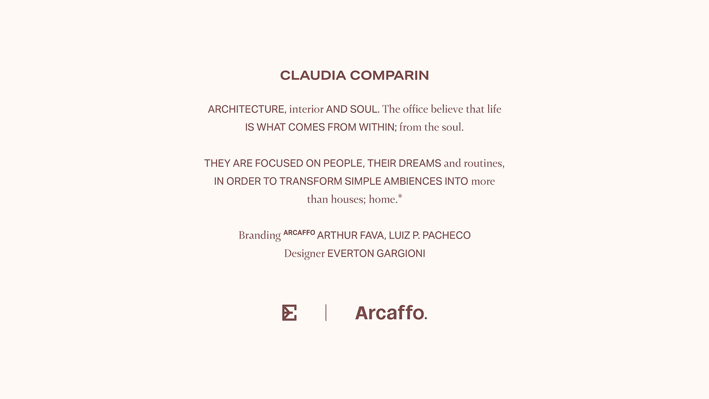 architecture brand branding  design graphicdesign logo monogram ARQUITETURA identidade visual