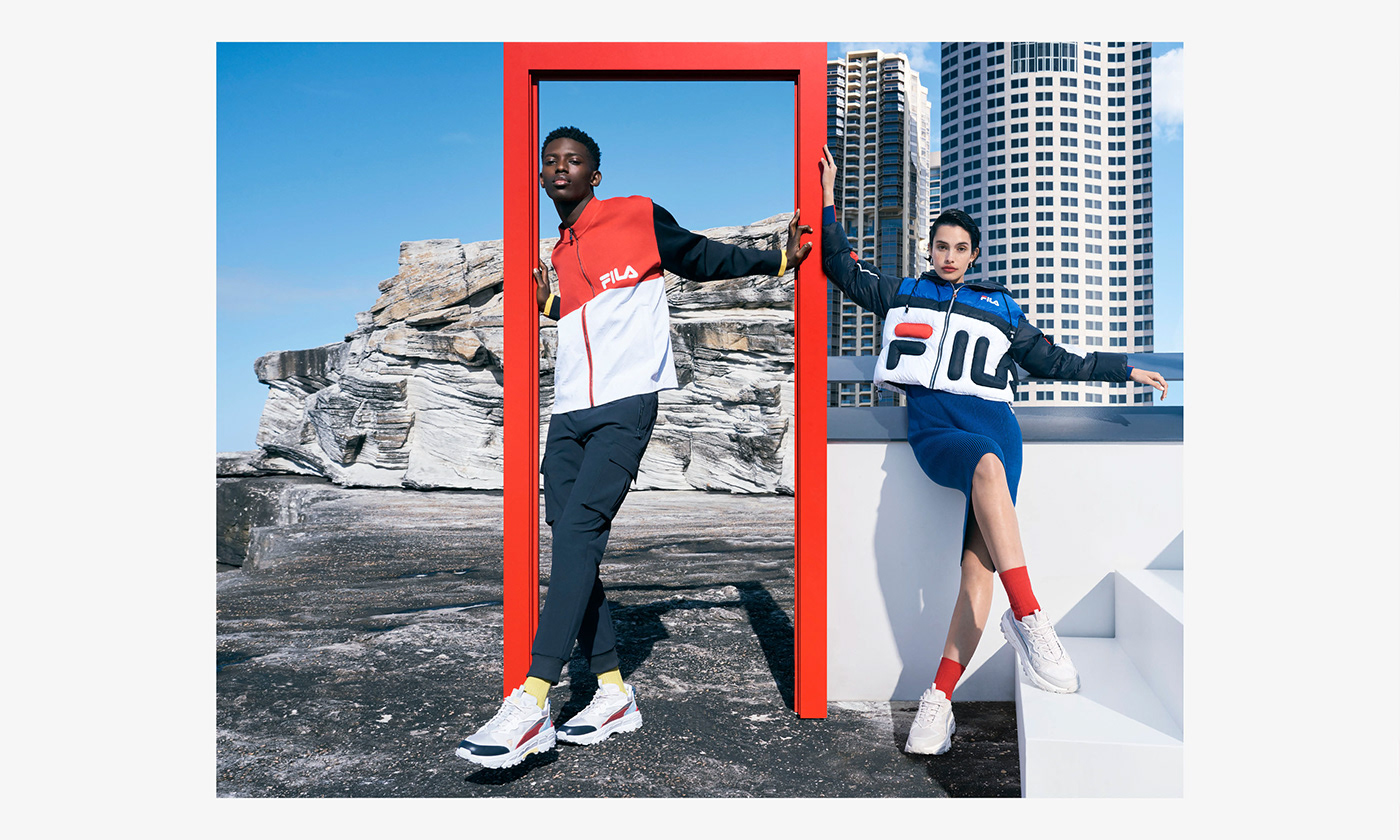ArtDirection CreativeDirection design Fashion  fila filachina filashoes paperstonescissors sydney