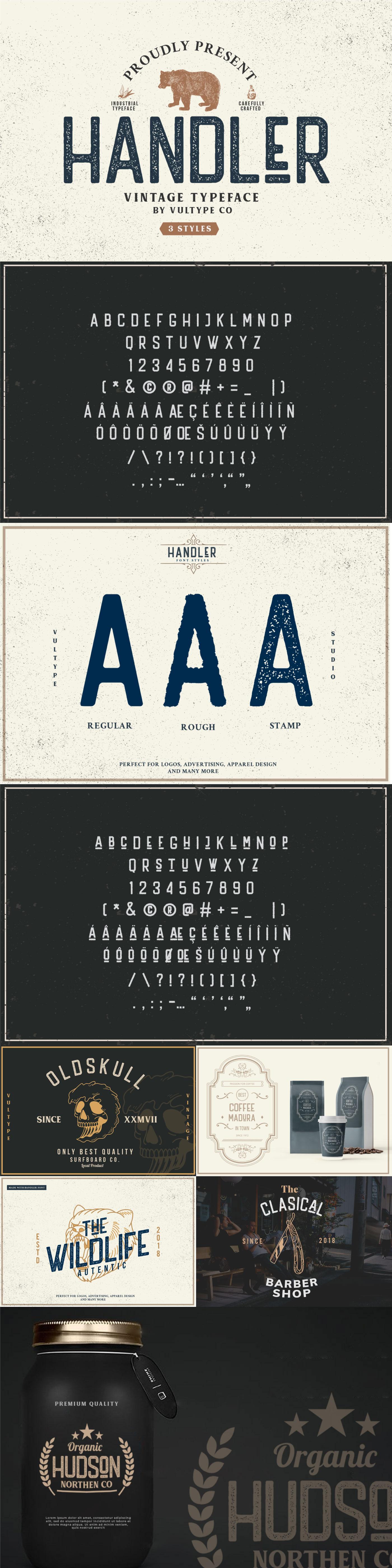 Шрифт – Handler