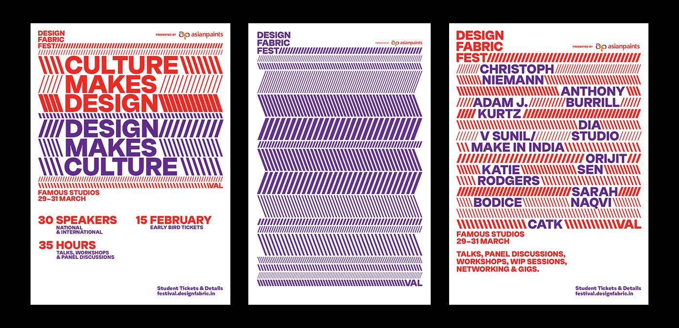 design identity motion type conference festival India MUMBAI trains Dynamic