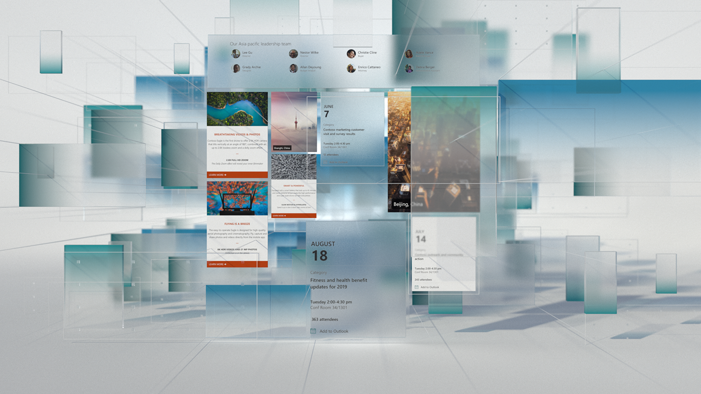 Microsoft SharePoint on Behance